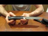 Нож Егерь, ручьная работа