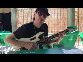 Steve Vai Playing my Ibanez Jem EVO