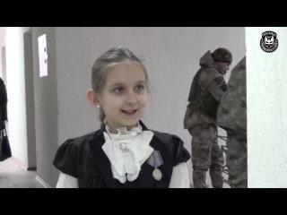 Награждение Нещерет Богданы медалью