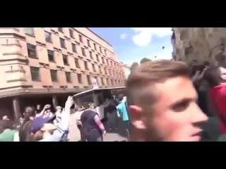 Киев Реакция молодежи на проведение ГЕЙ парад12 06 2016