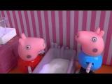 ЗЕЛЕНАЯ СЛИЗЬ Свинка Пепа и Джордж сделали ЛИЗУН Клиника Доктора Мультик с игрушками Pe
