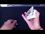 ★ Перетасовка карт в воздухе обучение • In The Hand Riffle Card Shuffle Tutorial