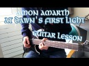 Amon Amarth - At Dawn's First Light Guitar Lesson (Lead and Rhythm) w/ Tabs