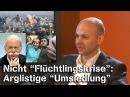 Nicht Flüchtlingskrise Arglistige Umsiedlung Rico Albrecht im NuoViso Talk
