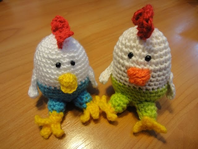 Петушок Cockerel Crochet