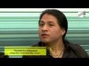 Inca Sol dando la entrevista para 21TV telecanal musical armenio