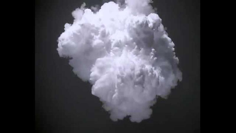 Футаж белый дыма