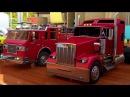 Мультики про машинки для мальчиков. Пожарная машина. Учим цвета и раскрашиваем с...