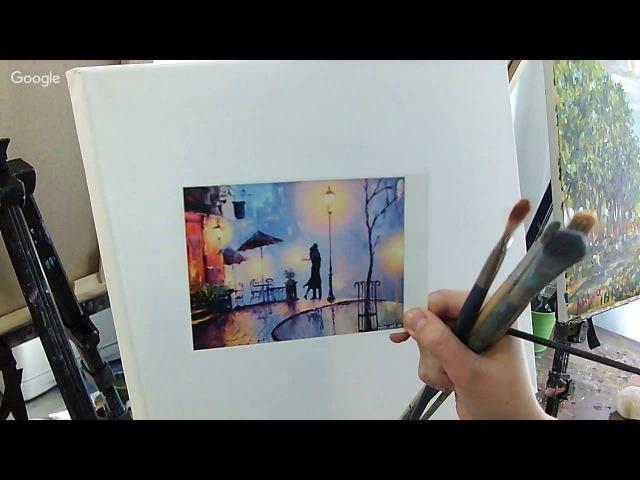 Рубрика Рисуем с Любой Дикер Грандъ Живопись Выпуск 1