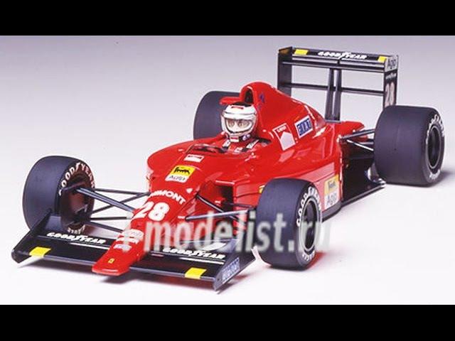 Обзор сборной модели фирмы Tamiya: Formula 1 (Grand Prix Collection) Ferrari F189 Potuguese. Масштаб модели: 1/20. Автор и ведущий: Витос (схема сборки). www.i-modelist.ru/goods/model/avto-moto/tamiya/1654.html