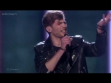 Justs - Heartbeat (Latvia) Live at Semi-Final 2 of the 2016 Eurovision Song Contest(1)