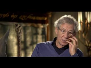 Хоббит Нежданное путешествие/The Hobbit: An Unexpected Journey (2012) Интервью с Иэном МакКелленом