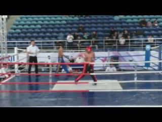 Победный танец под Майкла Джексона на Чемпионате РК по кикбоксингу