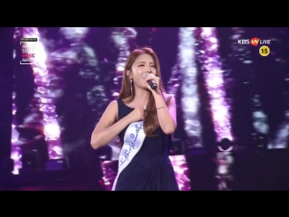 [160114] Hong Jin Young (홍진영) - Cheer Up (산다는 건) @ 서울가요대상 Seoul Music Awards 2016