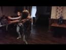 Современный танец от Кати Чепурной и Лизы Бурденко