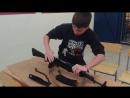 разборка и сборка автомата Калашникова АК-74