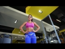 Michelle Lewin - Shoulders Workout Tricks. Спортивные девушки, фитнес модели, няшка, девочки. Не секс sex не порно ню стриптиз