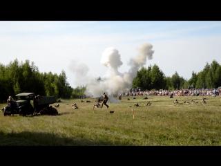 Реконструкция боя в июне 1941 года, Взлетка, 9.07.2016