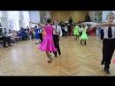 ВРУЧЕНИЕ МЕДАЛЕЙ (Алеша и Света) - 1место по бально-спортивным танцам в преддверии Нового года-19.12.2015г.