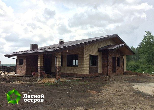 Готов второй «Дом на вырост» на участке 785 а! Он построен по проекту «Классический».