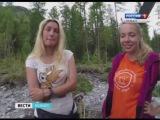 Студенты собрали урожай Агафье Лыковой