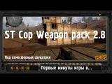 Первые минуты игры в STALKER STCoP Weapon Pack 2.8 - Разминка на зомби