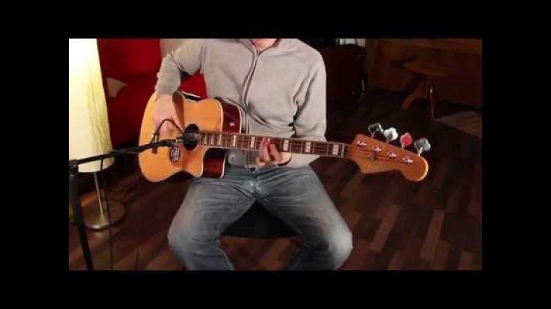 Fender Kingman Acoustic Bass SCE DEMO (VIDEO)