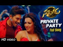 Private Party Full Video Song Sarrainodu Allu Arjun Rakul Preet Catherine Tresa
