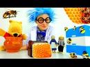 Как пчелы делают мед? Познавательное видео и прикольные стихи для детей