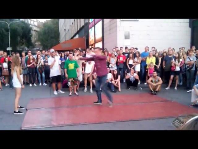 Танцевальные батлы Крещатика Вечерний Киев часть 7 Dance Battles Khreshchatyk Kiev Evening part7