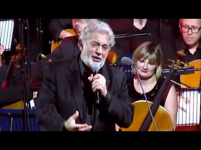 Placido Domingo Jonathan Antoine ~ iTunes Festival 30 September 2014