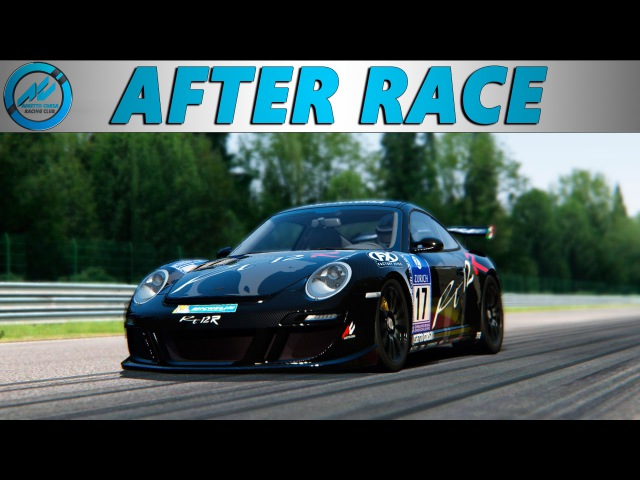 [After-Party] AC Racing Club. RUF RT12R RWD. Spa-Francorchamps