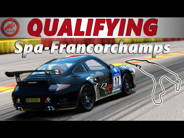 [Qualifying] AC Racing Club. RUF RT12R RWD. Spa-Francorchamps
