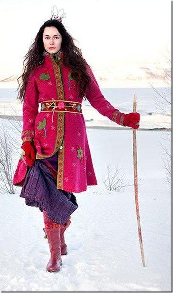 Скандинавское бохо от Gudrun Sjoden