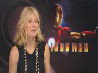 Железный человек/Iron Man (2008) Интервью Гвинет Пелтроу