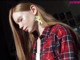 Бэкстейдж съемки макияжей для апрельского номера OOPS!