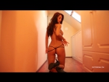 PhotoDromm ∞ Jennifer Sexy girl Model Hot Ass Legs Playboy Striptease Секси девушка в стрингах Стриптиз Эротика Шикарная фигура
