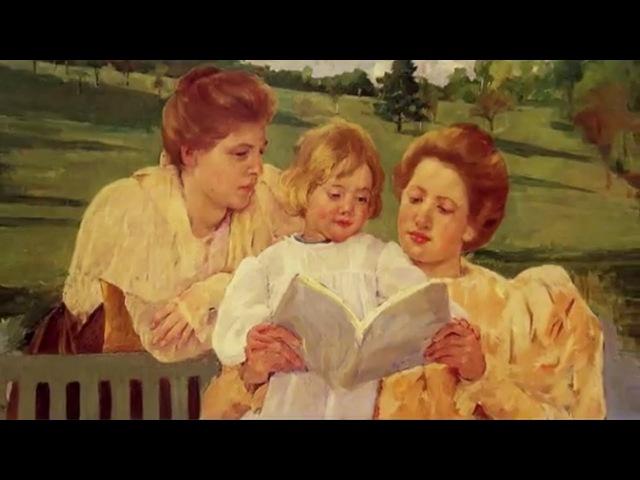 Развивающие мультфильмы Совы Художница Мэри Кассат Всемирная картинная галерея