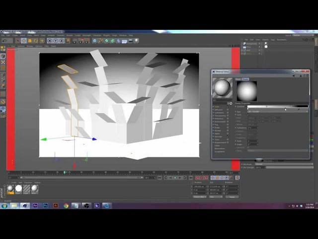 Tutorial Cinema 4D Building an Object with the Step Effector