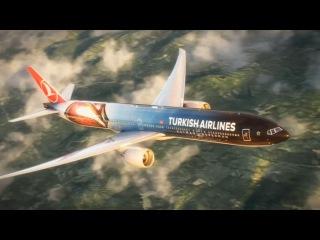 Turkish Airlines перекрасила свой самолет к выходу