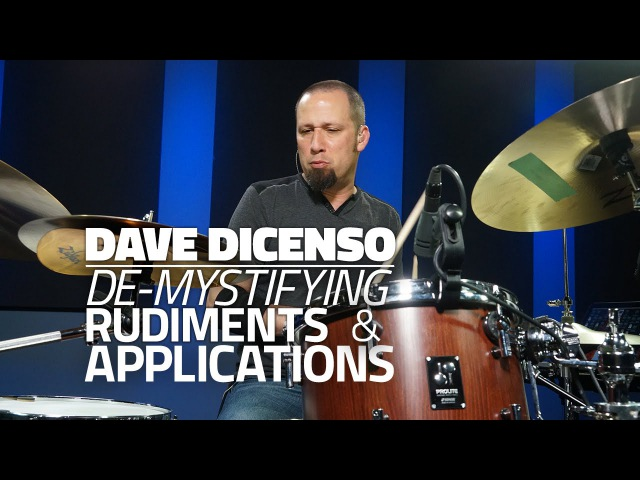 Dave DiCenso - De-Mystifying Rudiments Applications (DRUMEO)