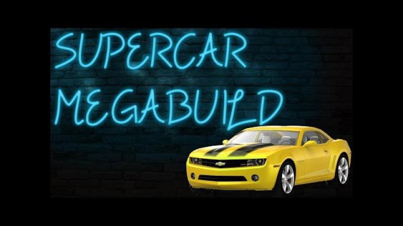 Supercar Megabuild S01E09 Chevrolet Camaro