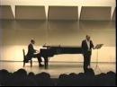 Piero Cappuccilli baritono Ottobre 1989 Tokyo Concerto privato