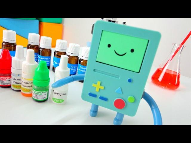 Детское видео. Признаки химических реакций. Опыты по химии