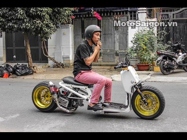 Ruckus độ phong cách Mỹ   MotoSaigon.vn