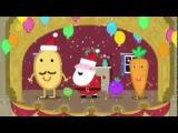 Peppa Pig Mr Potatos Christmas Show Season 4 Episode 25