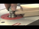Infinity Cutting Tools - Window Sash Router Bit Set