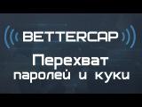 Kali Linux 2.0 Перехват паролей и куки (Bettercap) в Wi Fi сетях