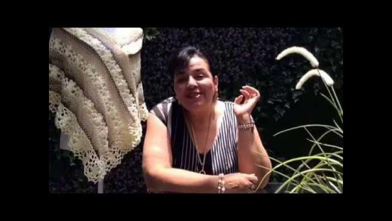 TEJE CAPA CON RED PRIMAVERA - Ganchillo fácil y rápido - Yo Tejo con LAURA CEPEDA