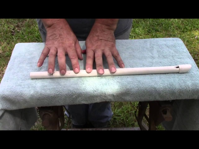 Make and Tune PVC Pennywhistle Accurately in Two Octaves